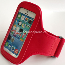 Red Neoprene Sports Armbands for promotion gift